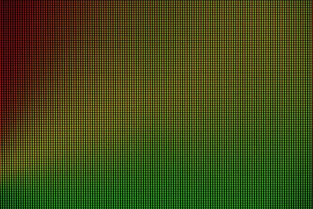 Lumières led de l'écran d'affichage de l'écran d'ordinateur led