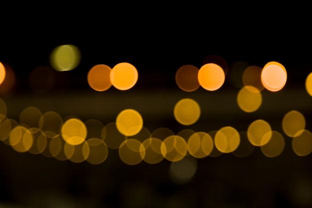 Lumières de la ville floue