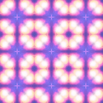 Lumières vives géométrie transparente texture violette pour les flyers de fête toile de fond élégante motif islamique