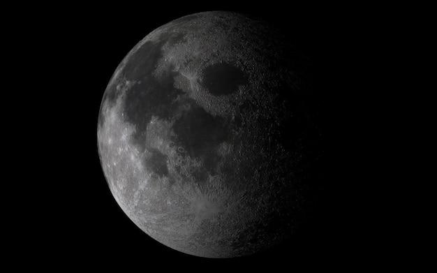 Lune dans le ciel