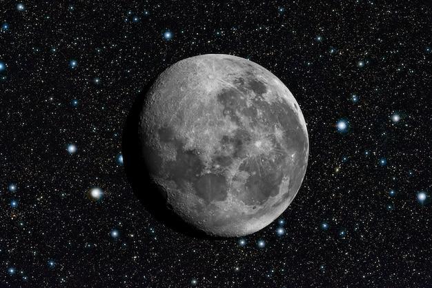 Lune dans l'espace