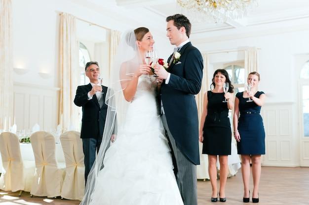 Lunettes de mariée