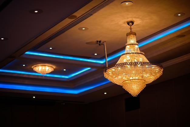 Lustres, belle lumière, lumière de luxe