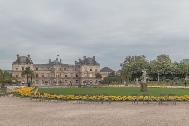 Luxembourg palase à paris en france