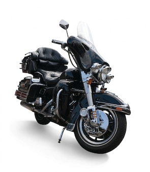 Luxueuse moto noire