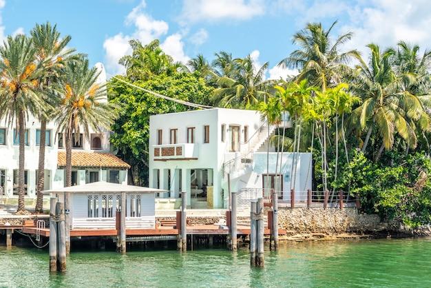 Luxueux manoir à miami beach, floride, états-unis