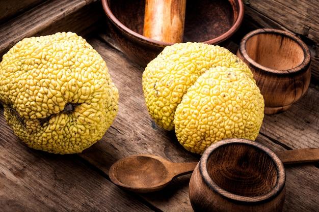 Macaronis maclura orange ou pomme