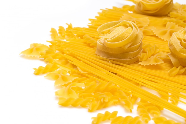 Macaronis non cuits