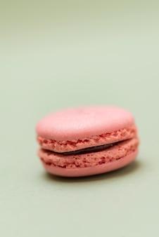 Macarons ou macarons français de couleur pastel vintage