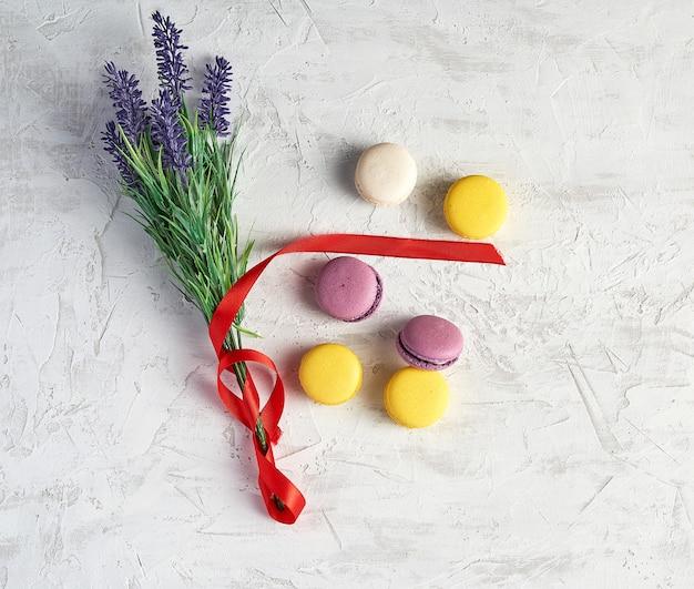 Macarons ronds au four