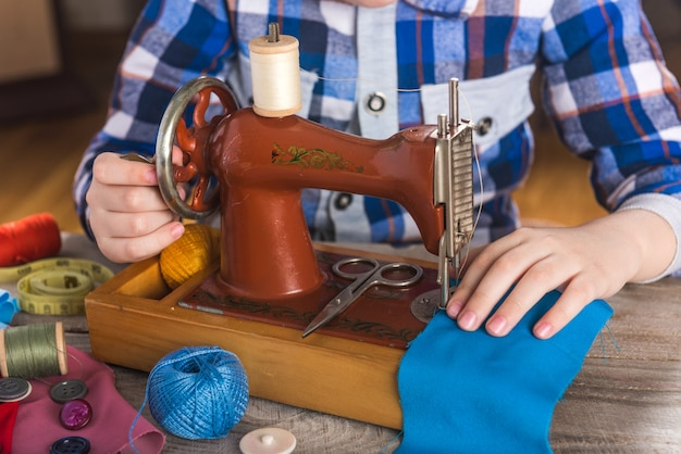 Machine à coudre pour enfants couture de loisir pour enfants