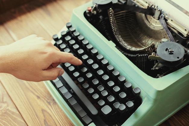 Machine à écrire antique. machine à écrire vintage