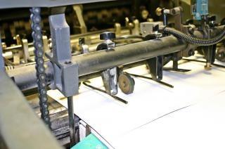 Machine d'impression offset, bars