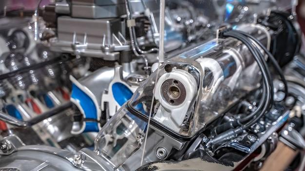 Machine de moteur de voiture