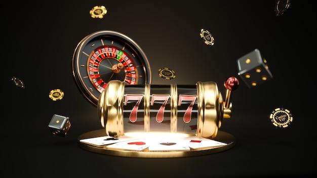 Machine à sous avec roulette