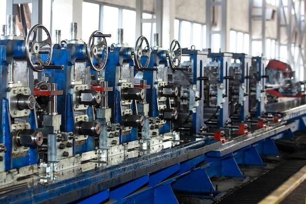 Machines dans le bâtiment industriel
