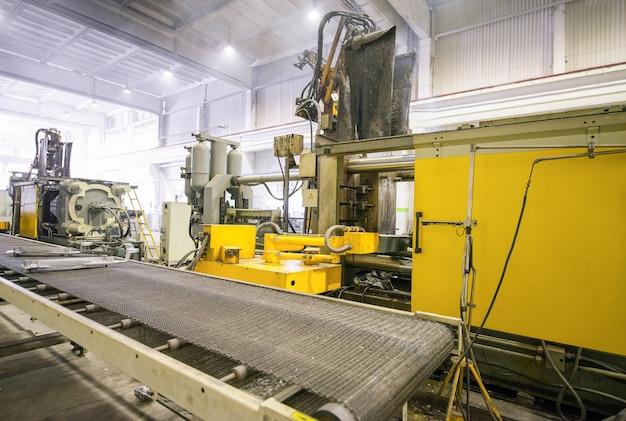 Machines pour la fusion et la production de radiateurs de chauffage fabrication de radiateurs de chauffage