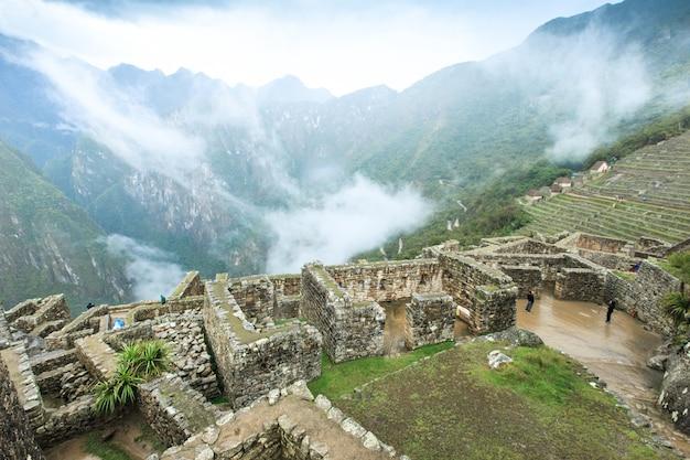 Machu picchu, un site du patrimoine mondial de l'unesco