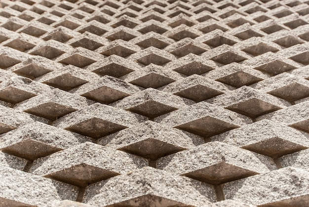 Maçonnerie en briques grises d'une nouvelle maison