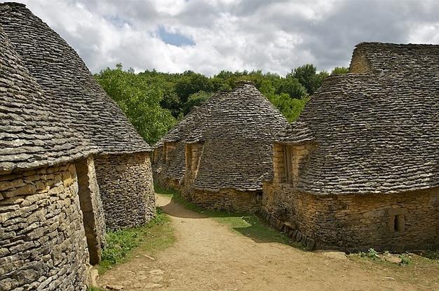 Maçonnerie cottages en pierre sèche