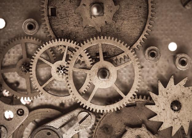 Macro de montres mécaniques