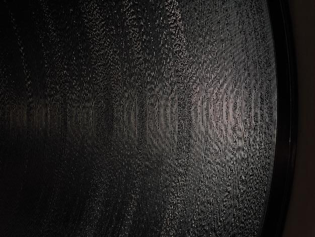Macro de rainures de disque vinyle