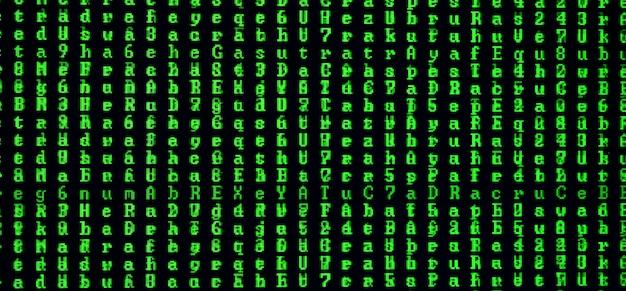 Macro shot d'un problème sur l'écran d'un ordinateur de bureau.