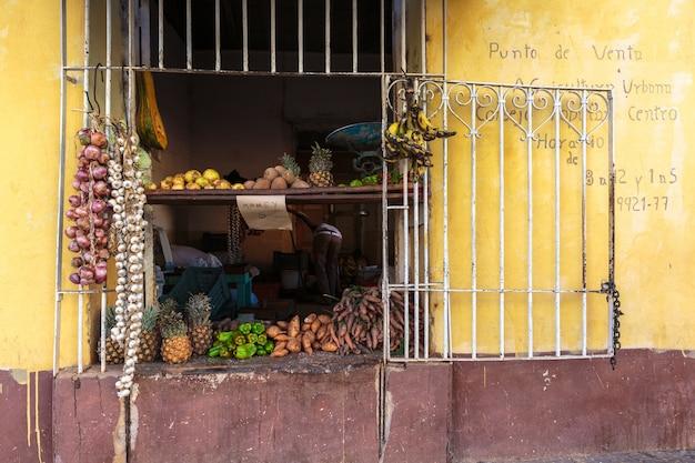 Magasin d'alimentation à trinidad