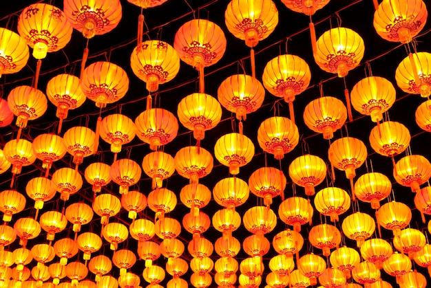 Magasins de lanternes en papier à chiangmai en thaïlande
