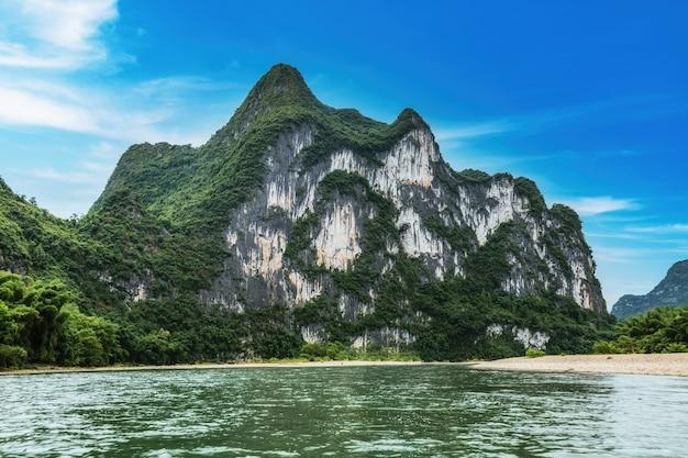 Le magnifique paysage de guilin, chine