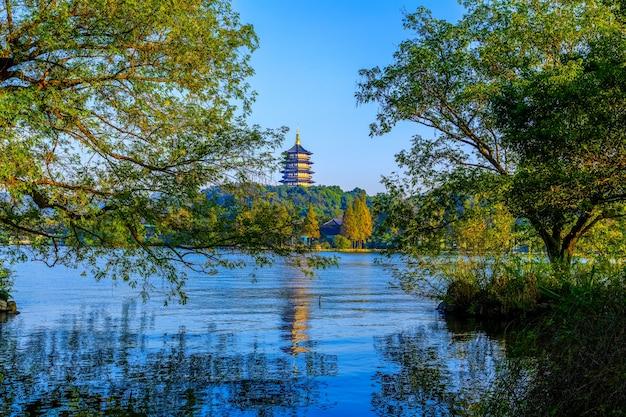 Le magnifique paysage de hangzhou, west lake