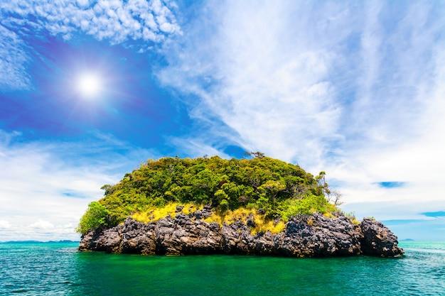 Magnifique paysage océanique.