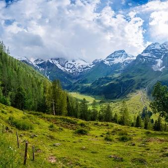 Magnifique vue sur les alpes