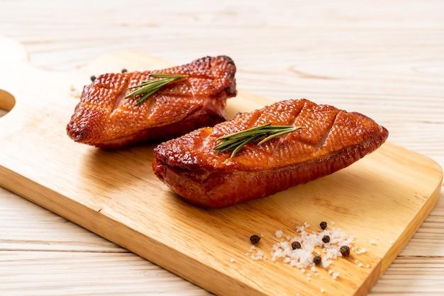 Magret de canard grillé