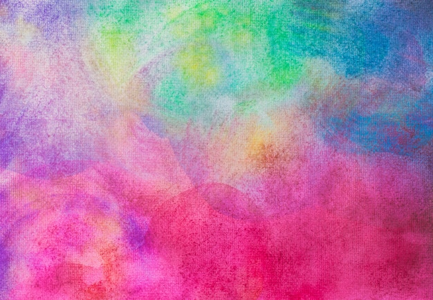 Main abstraite peint l'aquarelle sur fond de papier peinture et la texture.