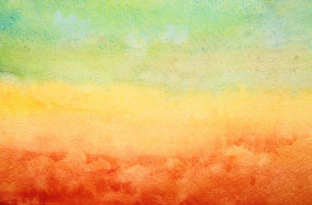 Main abstraite peint un fond aquarelle.