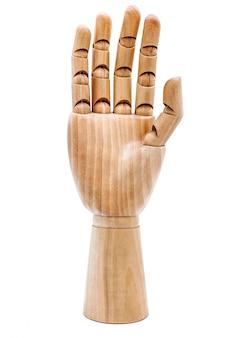 Main en bois