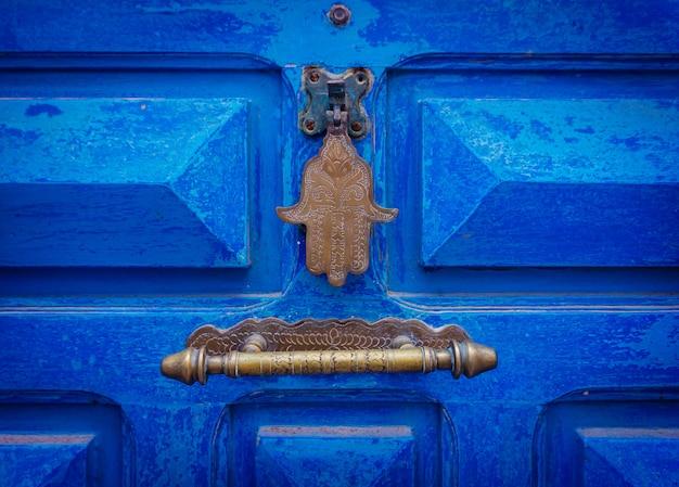 Main de fatima ou amulette de hamsa (hamsa) ou main de miriams (main de miriam).