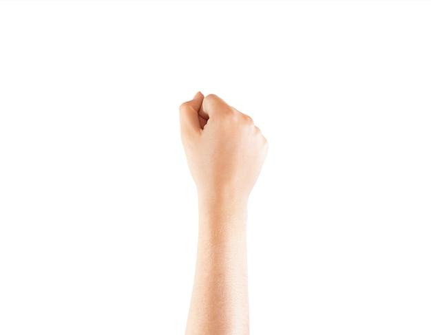 Main de poignet de tatouage vierge maquette, isolé