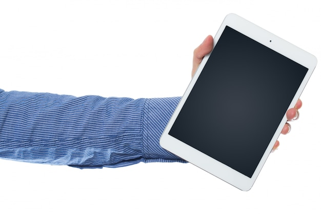 Main et tablette