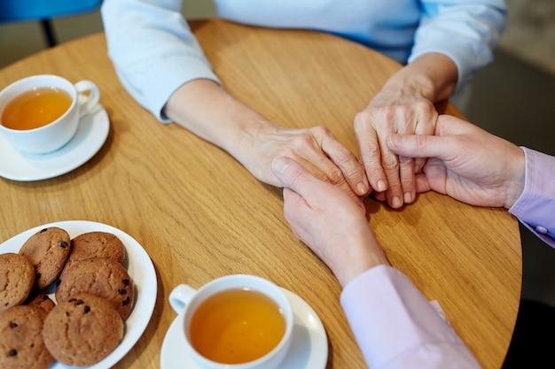 Mains de saint valentin