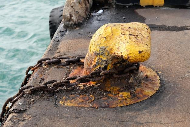 Maintien de l'amarrage des navires du port