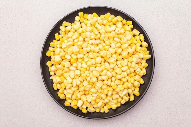 Maïs doux biologique congelé