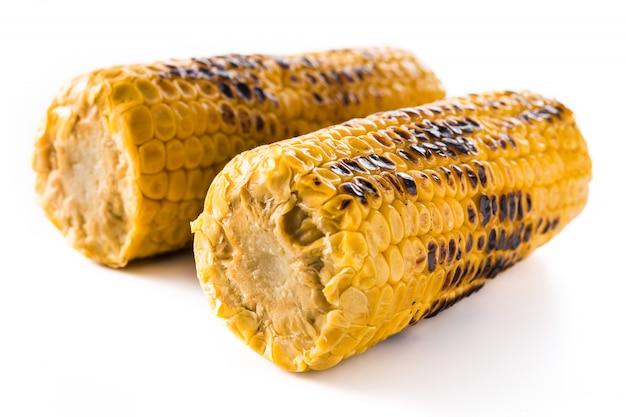 Maïs doux grillé isolé