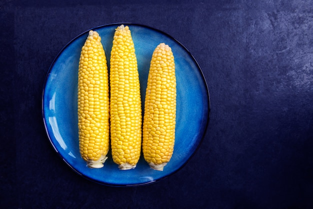 Maïs doux jaune frais