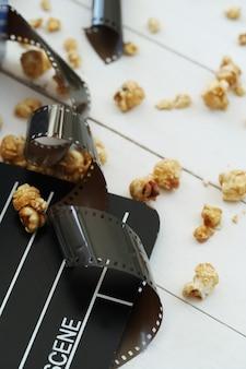 Maïs soufflé, battant, cinématographie