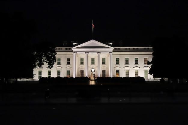 La maison blanche à washington, états-unis