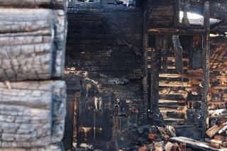 Maison brûlée, la protection