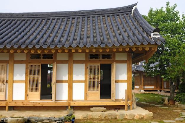 Maison coréenne traditionnelle