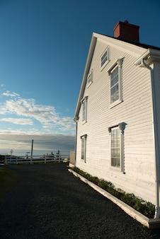 Maison à la côte, crow head, twillingate, north twillingate island, terre-neuve-et-labrador, can